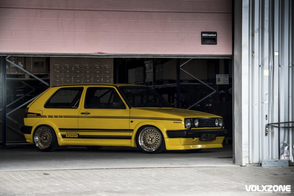 VW Golf II BBS