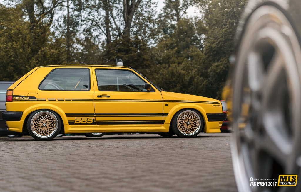 Low VW Golf