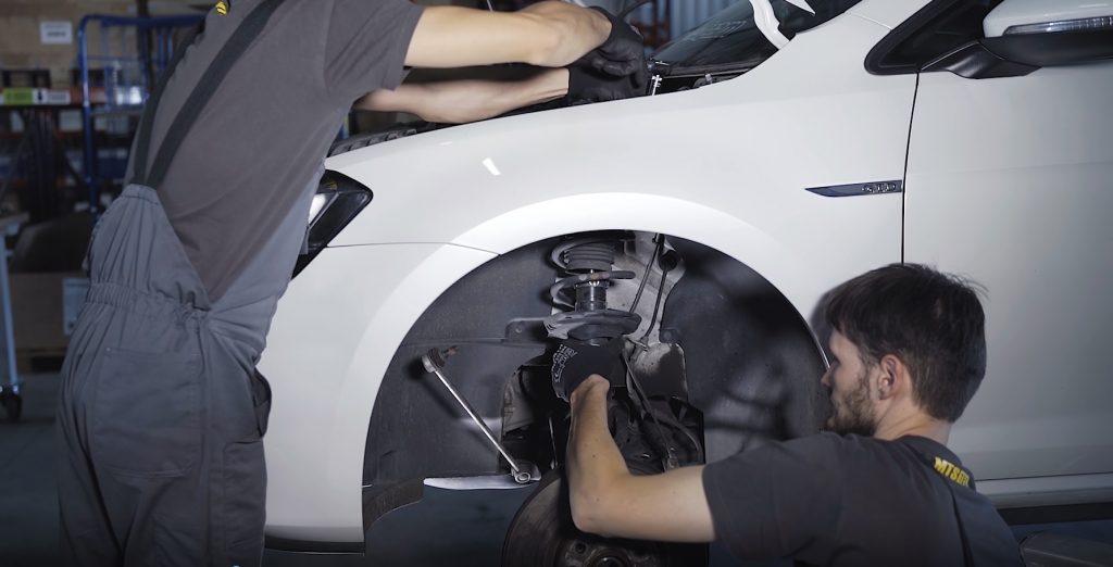 Zawieszenie przód VW Golf