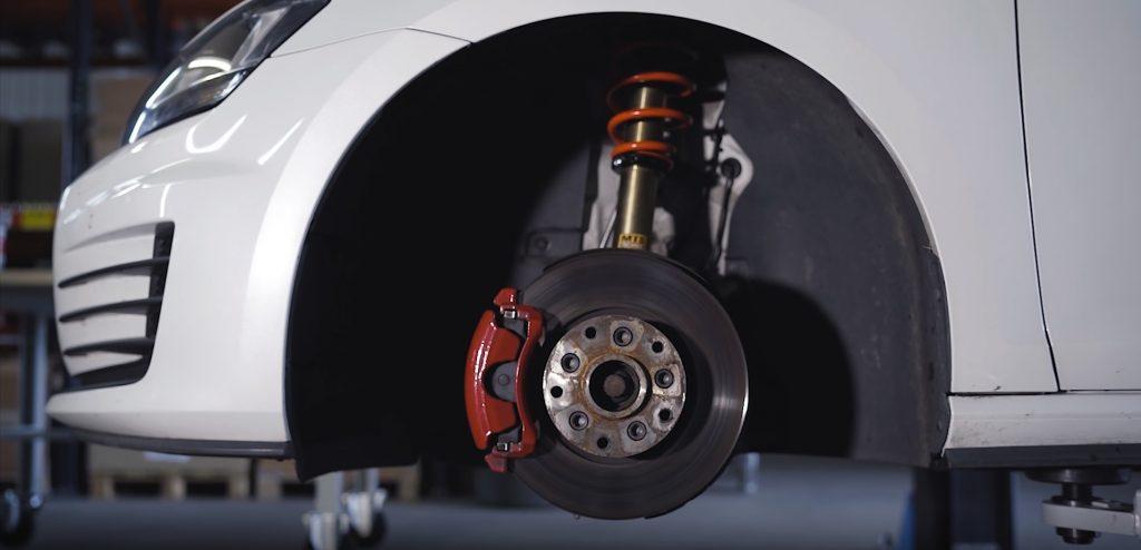 Zawieszenie VW Golf przód