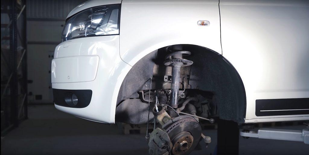 VW T5 suspension
