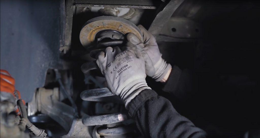 Rear suspension VW T5