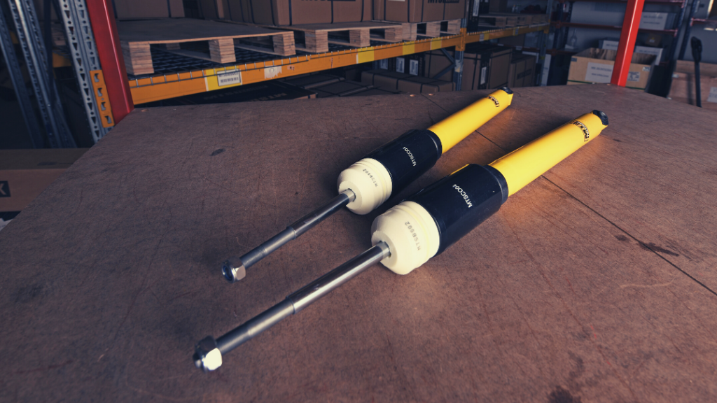 MTS Technik shock absorber