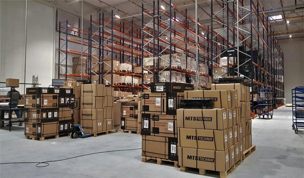 MTS Technik warehouse